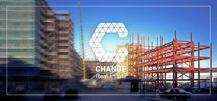 Change Real Estate banner building